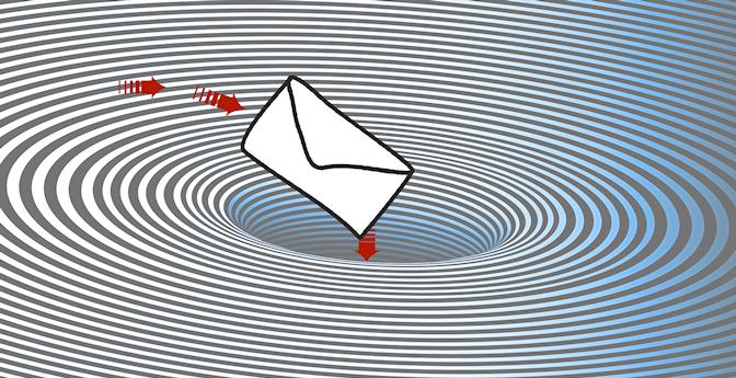 email black hole