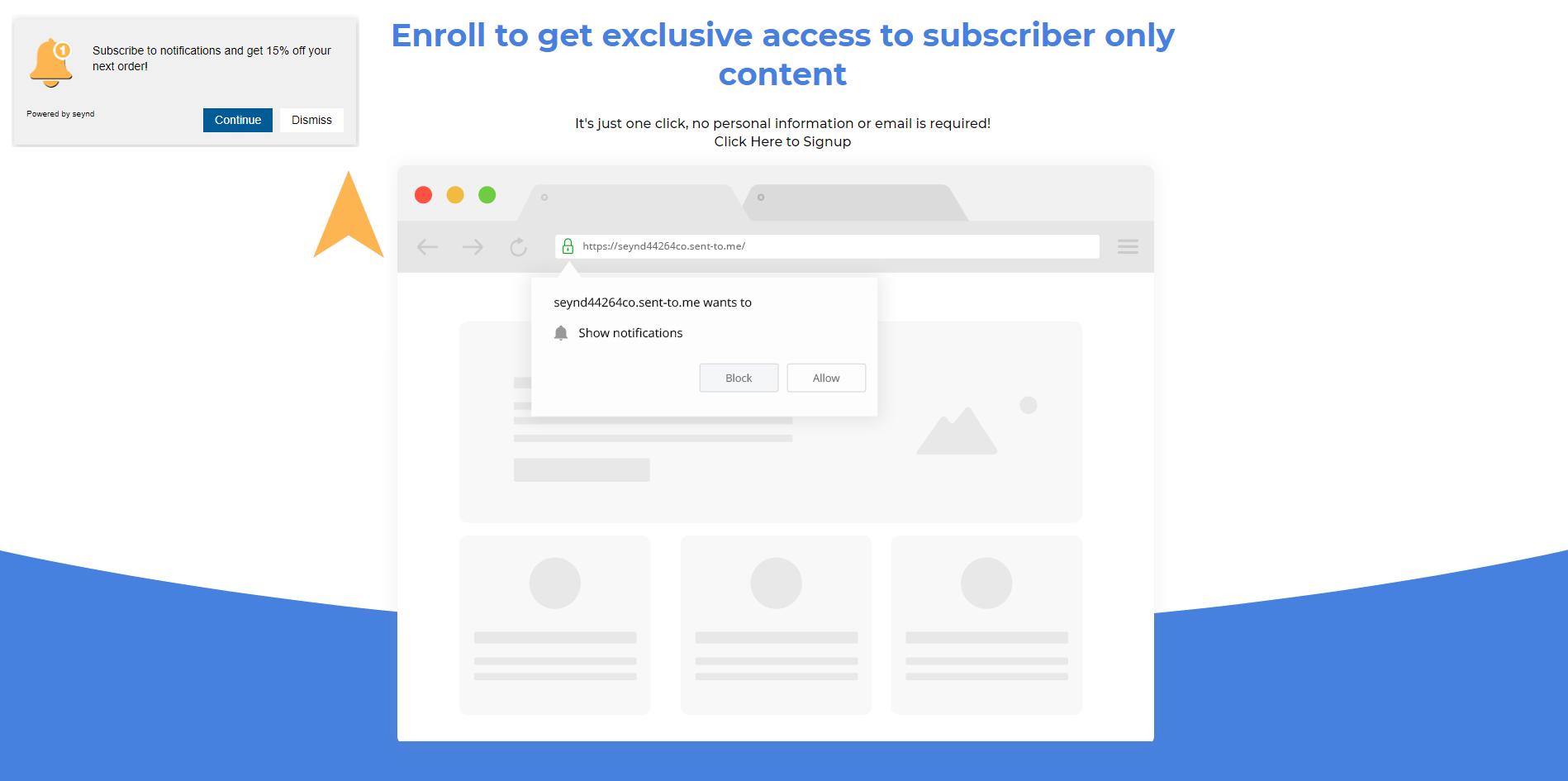 web push notification opt-in