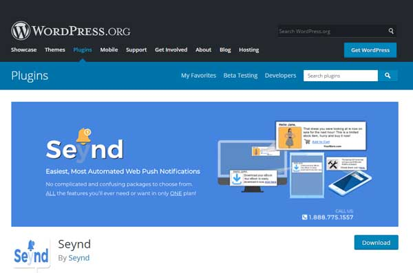 Blogger download for Seynd Plugin